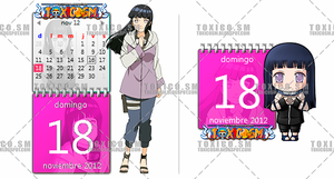 CALENDARIO HINATA by ToxicoSM
