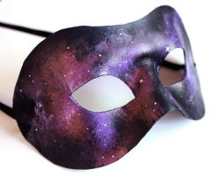 Purple Nebula Mask by OakMyth