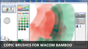 SketchBookPro Copic for Bamboo by sangles