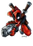 deadpool x by LOLONGX