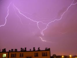Lighting over Chorzow by YakuzaKuroi