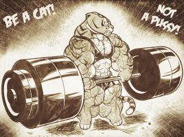 Tigress Gym03 by Gettar82
