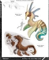 Deep Creature Concepts 2 by Hyptosis