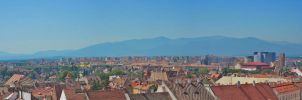 View of Hermannstadt by Iulian-dA-gallery