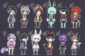 Alternative Adopts   -TAKEN - by Voodoo-Elf