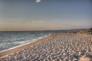 Posidi beach by Fortisinprocella