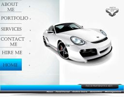 Car design number 2 webpage by whendt