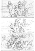 KickOff comic_sample page by PlanktonCreative