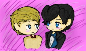 Johnlock~~ by ThePastelHobbit