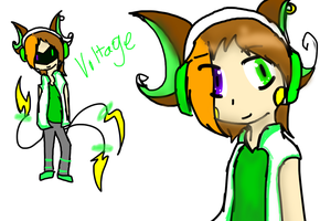 OC: Voltage by SparkyChan23