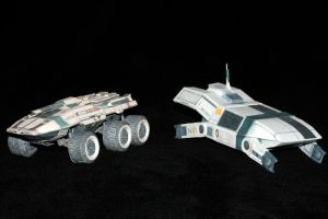 Mass Effect Mako and Kodiak 1 by ThunderChildFTC