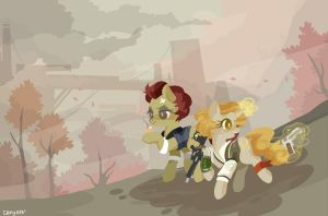 Fallout Equestria: Begin Again by cenyo