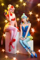 Sailor Moon: CereCere and PallaPalla by gorlitsa