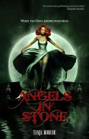 Angels In Stone - book cover by Morteque