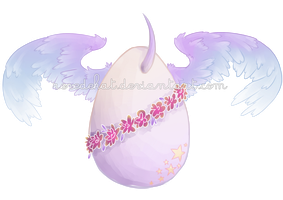[Adoptable] - Unicorn egg - CLOSED by Revedekat-adopts