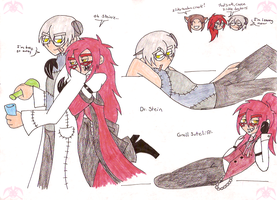 BB-SE: Stein and Grell by KPenDragon