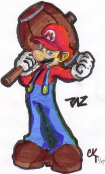 Mario - Ready for Some Action by taz52