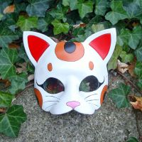 Maneki Neko Mask by merimask
