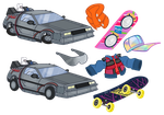 Back To The Future Assets by PixelKitties