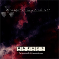 Accolade's Grunge Brush Set 1 by fne-accolade