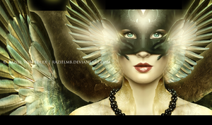 The Masked Angel by GeneRazART