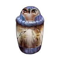 Mythic adventures Canopic Jar by Beastysakura