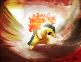 Typhlosion's Overheat by SuellenB