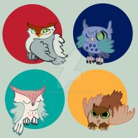 Owls by nonnett