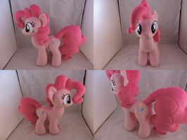 MLP Pinkie Pie Plush by Little-Broy-Peep
