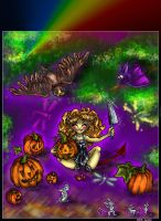 a day before Halloween.... by Janots13
