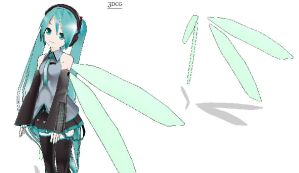 MMD- Fairy Wings V.2 -DL by MMDFakewings18