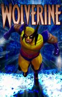 wolverine comic cover final by jeffwildstar