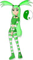 Teen Titans Oc Lucky by YingYang-girl
