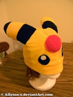 Ampharos hat by Allyson-x