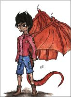 Jake Long - human form by MortenLung