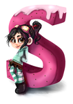 S Vanellope by Kittykatpaws