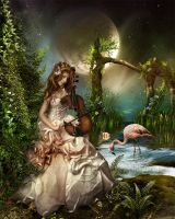 Silent love song by CindysArt