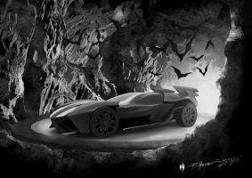 The Batmobile by Patrick-Hennings