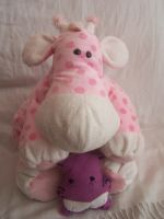 Giraf-Hippo and Happy-Hippo by Loverlet