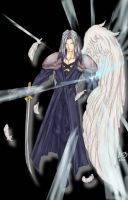A Winged Sephiroth by DailyDurian
