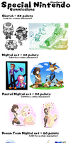 Commissions Special Nintendo (Closed) by CutyAries