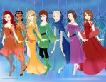 Seven Disney Virtues by MedieavalBeabe