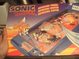SuperSonic Pinball Game by DazzyDrawingN2