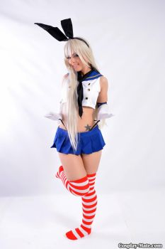 kantai collection shimakaze by pgmorin