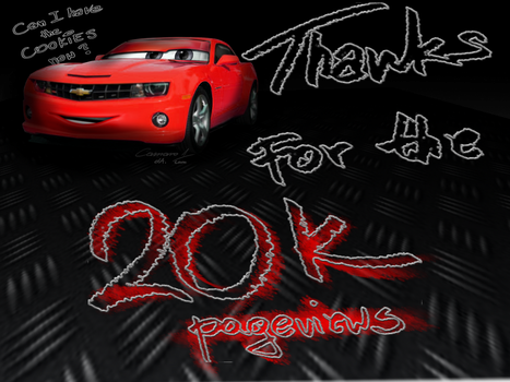 Thanks for 20k !!!!! by camaro1