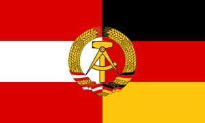 Flag of the Austro-German Democratic Republic by zeppelin4ever