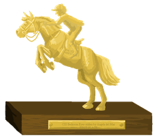 Grand Prix Show Jumping Trophy - First place by femalefred