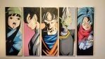 Dragon Ball Super Oil Painting by ILoveTrunks