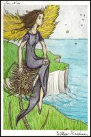 Thistle Fairie by sitres