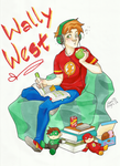 Wally West by NamiAngel